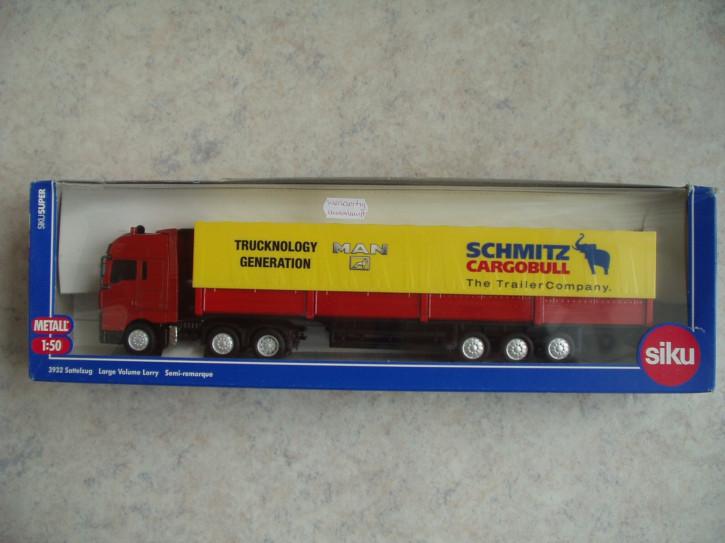 """MAN Sattelzug """"Schmitz Cargobull""""  M 1:50"""