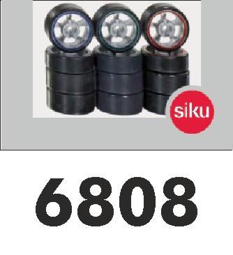 Reifenset B (schmale und breite Reifen) SIKURacing 1:43